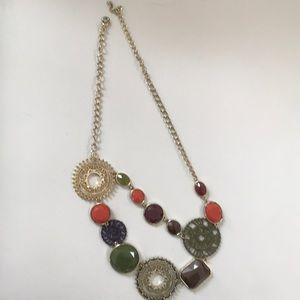 Jewelry - A-symmetrical statement necklace